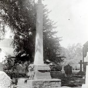 Bosbury Church Cross, 1929