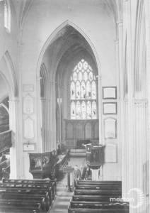 Interior of St.Peter & St.Paul, Parish Church, Mitcham