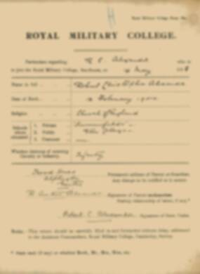 RMC Form 18A Personal Detail Sheets May & Sept 1918 - page 3