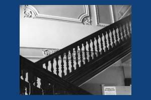Morden Hall: Internal staircase