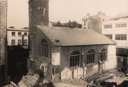St. Stephen's Church, c1945, Exeter