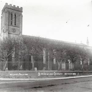 St Nicholas Church, Hereford, exterior
