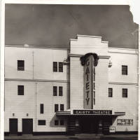 Photograph - Gaiety Theatre Building - 1960