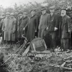 1909 Airship Crash in Sewell May 25th