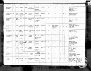 W Richardson Naval BMD Record