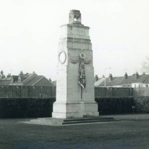 The Cenotaph at Brock Barracks, Oxford Road