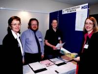 "Council staff at a ""Meet the Buyers"" event"