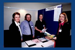 """Council staff at a """"Meet the Buyers"""" event"""