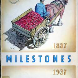 Milestones - to commemorate the Golden Jubilee of H.P. Bulmers & co. Ltd cider makers of Hereford, founded 1887 (published 1937)