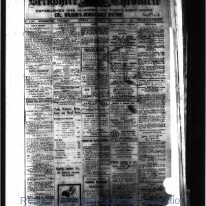 Berkshire Chronicle Reading 01-1919