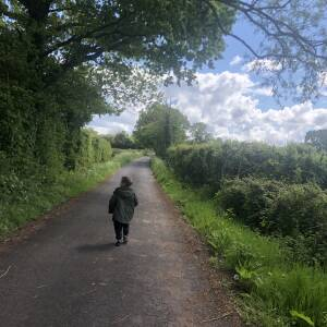 Long walks in the countryside, 1 May 2020