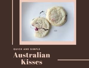 Australian Kisses (Vegan)