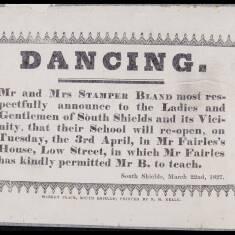 Mr and Mrs Stamper Bland, Dancing School