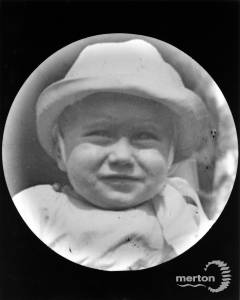 Kenneth Francis aged 9 months