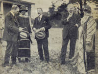 Wimbledon Historical Pageant: Performers and Dignitaries