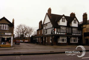 The  Crown Inn, London Road, Mitcham