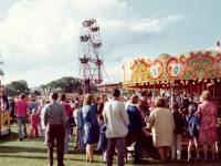 Funfair at the Merton Show, Morden Park