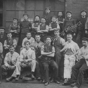 Henry Greaves' workforce, Ecclesfield.jpg