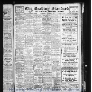 Reading Standard Etc 10-1915