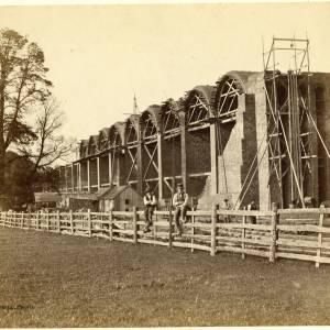 Loan23 Ledbury Viaduct construction - Arch formers in situ.jpg