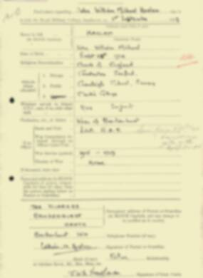 RMC Form 18A Personal Detail Sheets Feb & Sept 1933 Intake - page 212