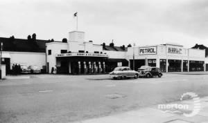 Berry's Garage, Kingston Road, Merton Park
