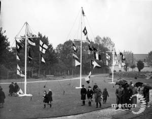 Flags hoisted in Nelson Gardens to honour Lord Nelson
