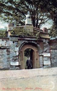 Merton Priory, Monastery Gate