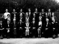 Wimbledon County School for Girls: Miss Borthwick and Staff
