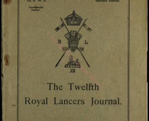 12th Lancers, 1913 December