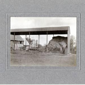 Aylton Court Farm, hay shed, 1910 pg
