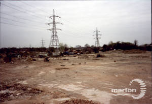 Savacentre:  Looking towards the former Liberty's site