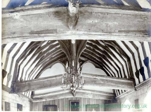 Brinsop Court, beamed ceiling