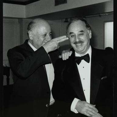 Harold Davison and Ron Anthony (left to right)