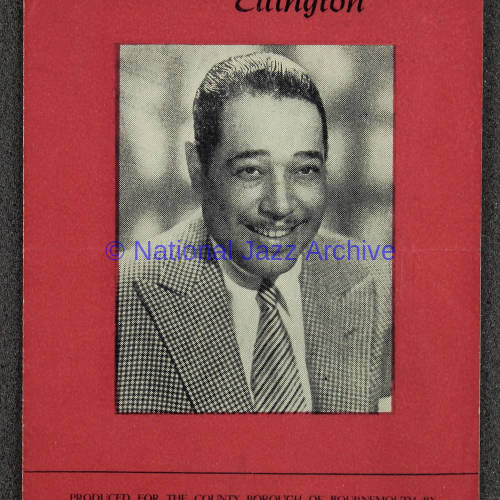 Duke Ellington, Ray Nance & Kay Davis British Tour 1948 001