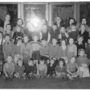 St Marks Sunday School Kindergarten Christmas Party c1948