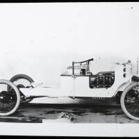 Unidentified motorised car