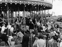 Mitcham Fair opening Ceremony: Mayor on fairground ride