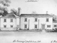 Old Parsonage, Mitcham:  Demolished 1826