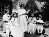 Crowning of Merton May Queen at St. John's Church