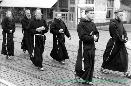 Possibly Capuchin Franciscan Monks