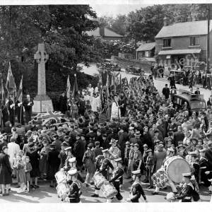Grenoside Remembrance Parade 1950