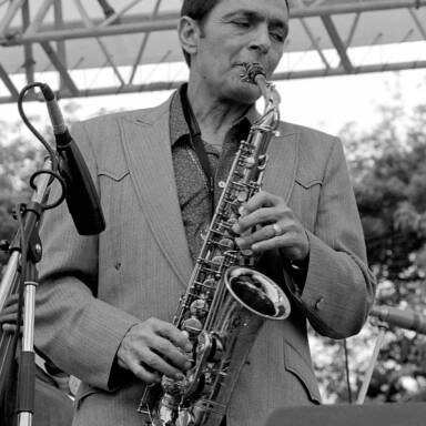 Art Pepper, 1981.