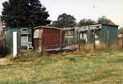 009 Clarence Horsfield's pigeon lofts at the Upper Denby Allotments