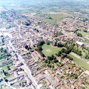 Aerial Photo, Leominster, 1984