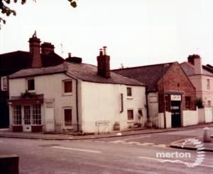 Thornton Road, Wimbledon: Corner of Ridgway