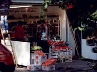 Fair Green, Mitcham: fruit stall