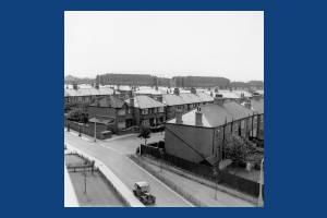Laburnum Road Estate, Mitcham:  Looking SW