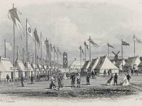 National Rifle Association camp: County tents
