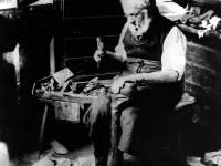 William Wallace, Cobbler, pictured at London House